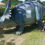 古賀市のガーデンテラス和(なごみ)でランチ。恐竜いっぱい!